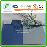6mmdark Blue Reflective Glass/′ Colored Float Glass/ Tinted Glass
