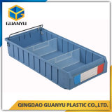 Industrial plastic storage bins and boxes