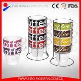 Stacking Ceramic Mug Stackable Coffee Mug (GC1086)