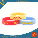 China Customized Logo Silicone Wristbands for Advertising Gift