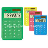 8 Digits Colorful Mini Size Solar Power Handheld Calculator (LC396A)