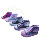 2017 Hot New Children′s Casual Canvas Shoes