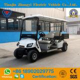 Zhongyi 2 Seats Battery Powered Cargo Electric Golf Buggy for Resort