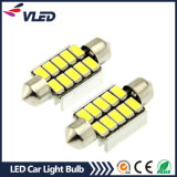 Car Lighting Accessory Festoon 36mm 5630 10SMD White LED Festoon Light Bulbs