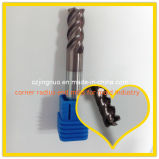 Solid Carbide CNC Machine Milling Cutter Helical Flutes
