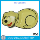 Hot Sale Dog Design Ceramic Pet Bowl