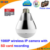1080P Fisheye Panoramic Bulb WiFi Camera Hidden