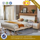 Living Room Furniture Solid Wood Double Bed Wholesale (HX-8NR0835)