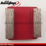 20# Soft Bond Double Bar Segments Redi Lock Grinding Block