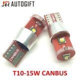 Super Bright T10 CREE 15W Canbus LED W5w Canbus T10 LED 3SMD Clearance Light