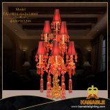 European Living Room Decorative Brass Table Lamp (TA-0824-6+3+1)