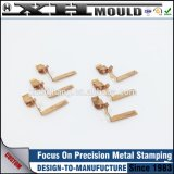 OEM Custom Brass Stamping Metal Precision Spring Clip