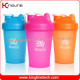 400ml Plastic Shaker Bottle withstainless steel ball (KL-7011)