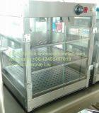 Stainless Steel Food Warming Showcase Food Warmer with Ce Certificate (DFW-510-3TL)