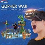 Kids Interactive Virtual Reality Mole War Game Machine Arcade Vr Amusement Park Equipment