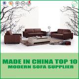 Modern Upholstered Grey Fabric Sofa Set