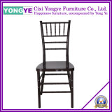 Black PP Resin Chiavari Chair with Steel in Legs