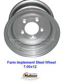 Small farm Implement wheel rim 7.00x12 for tire 10.0/80-12