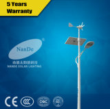 New Style 7m Height Solar Wind Hybrid for Street with 40-172W LED Lights