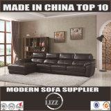 Divano in Pelle Sectional Sofa Black Lz8802