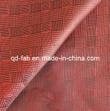 Beautiful Yarn Dyed Red Jacquard Fabric (JF-3)