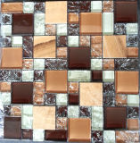 Glass Mosaic Wall Tile, Crystal Glass Mosaic (HGM284)
