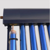 Heat Pipe Solar Collector with Black Color Aluminium Manifold