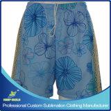 Custom Made Sublimation Girl′s Lacrosse Shorts