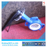 Full PTFE Anticorrosion Butterfly Valve with Handle Bct-F4bfv-19