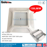 Recessed Ceiling Mounting 400W Metal Halide Lamp LED Replacement LED Gas Station Light 100W