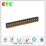Double Row Flat Spring Loaded Connector
