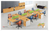 Adjustable Straight Office Cubicle Workstation with Fixed Pedestal