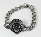 Hot Sell Wholesale Mens Skull Stainless Steel Bike Chain Bracelets