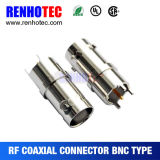 28.6mm Receptacle Straight PCB Mount Female BNC Connector