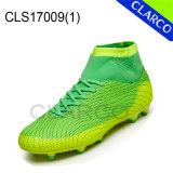 Flyknit Mesh Men Professional Soccer Outdoor Shoes Boots