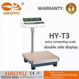T3 Double-Side Display Indicator Carbon Steel Frame Platform Scale