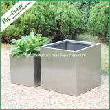 FO-9004 Stainless Steel Flower Pots, Large Piazza Pots
