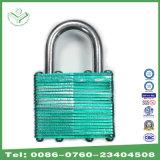 Quality Assurance Color Painted Laminated Steel Iron Padlock