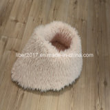 Cute Fashion Fur Puppy House Dog Beds Plush Cat House