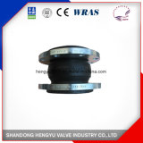 Single Sphere Rubber Expansion Joint with Galvanized Flange