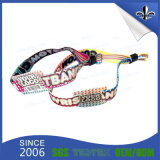 Custom Professional Fabric Woven Wristbands for Events