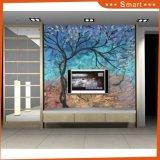2017 Hot Item Wholesale Digital Printed Tree Series Oil Painting (Model No: HX-4-053)