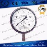 Stainless Steel Pressure Gauge with Low-Pressure