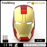 Novelty Promotional Gift RF Wireless Laptop Optical Mouse