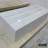 Kkr Textured Marble Solid Surface for Wall Panel