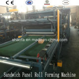 EPS and Rock Wool Sandwich Panel Machine for Africa