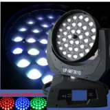 Newest 36PCS 10W RGBW 4in1 Wash LED Moving Head