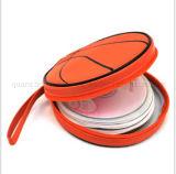 OEM Custom Basketball Shape CD DVD VCD Storage Case Bag