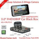 "Cheap 3.0"" Full HD1080p Car Mobile DVR with Stk 2581 CPU and 2.0 Mega Ov2720 CMOS Car Camera Built-in G-Sensor, Night Vision DVR-3003"