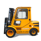 3.0Ton Diesel Forklift Truck with Cabin (HH30Z-C1-D, Double Pneumatic Tires)
